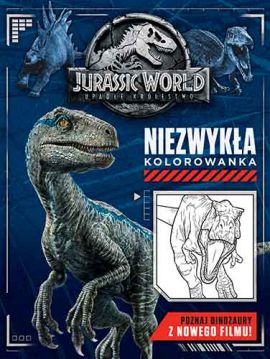Jurassic World 2. Niezwykła kolorowanka